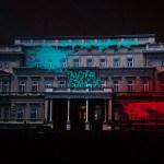 Blago Kosova i Metohije na zgradi Skupštine grada