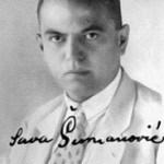 Sava Šumanović, slikar, Sava, portret Sumanovica,