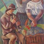 Sava umanović, Gajdaš, 1924 ,Galerija Matice srpske