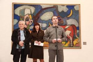 Dimitrije Jovanov, Galerija ULUS, Mitologija mOnumentalnog, muzej Pancevo