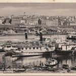 Beograd, pogled iz Zemuna, 1937, Isidora Sekulic