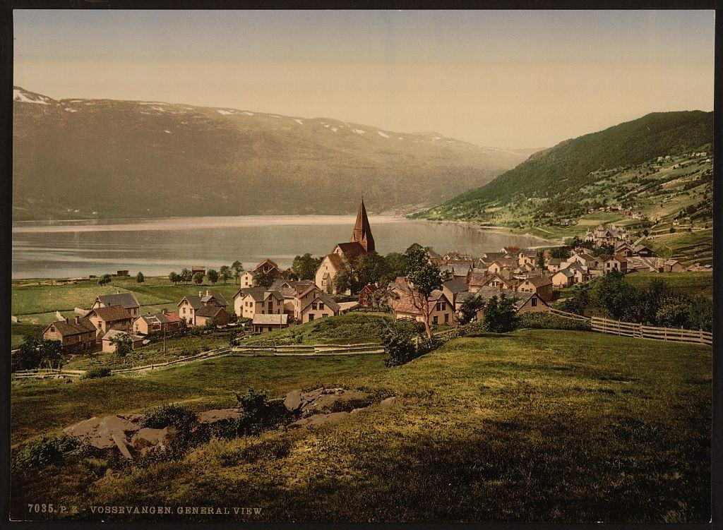 Hardanger fjord, Norveška