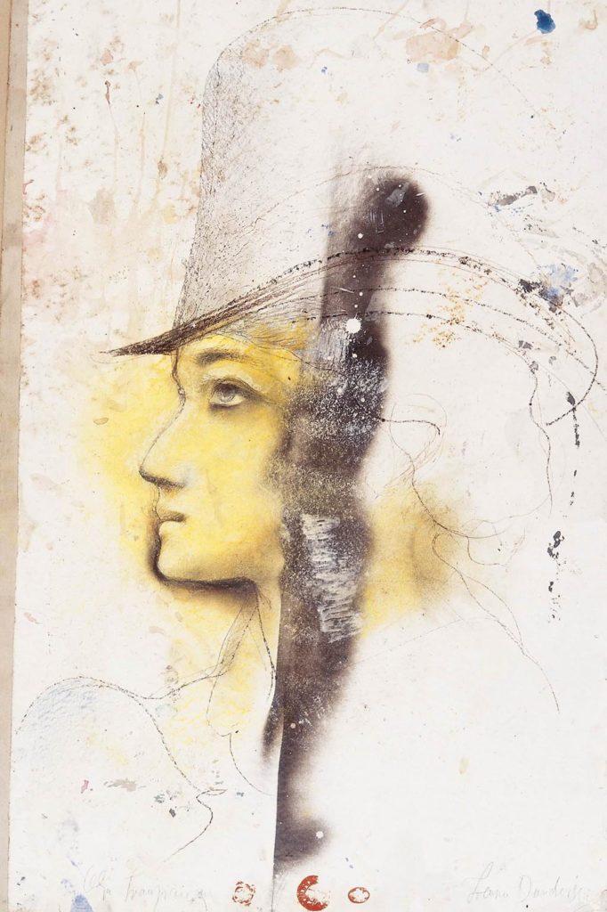 Olja Ivanjicki, portret Lenke Dunđerski, Laza Kostic, Santa Maria della Salute