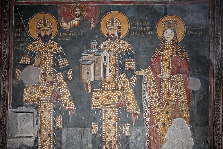 Milutin, Dragutin i katelina, Arilje, Sveti Ahilije, D. Bosnic