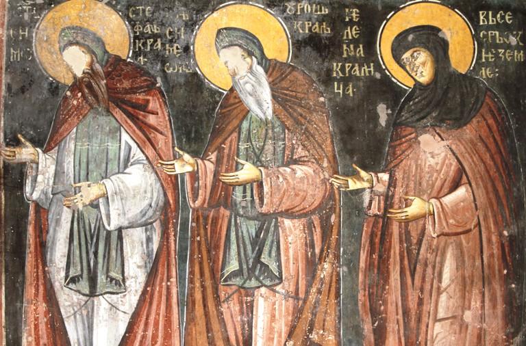 Uros, Jelena Anžujska, Arilje, Sveti Ahilije