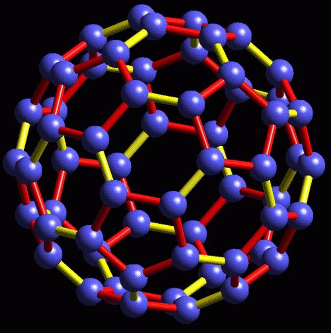 Molekul C60, FULEREN