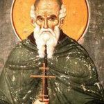 Atanasije Atonski, ruska ikona