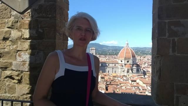 Dr Dragana Milić u Firenci