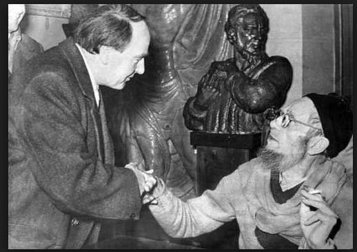 Henri Mur u Beogradu, u poseti Tomi Rosandiću 955.