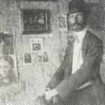Kosta Milicevic u ateljeu