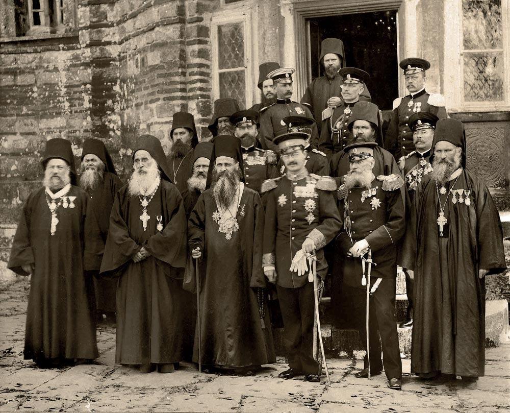 Kralj Aleksandar Obrenovic u Hilandaru