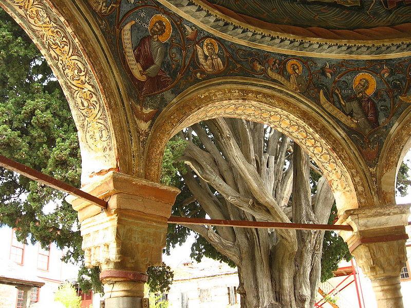 Čempres svetog Atanasija, Velika Lavra, foto: adriaticus