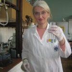 Dr Dragana Milić na poslu u laboratoriji, foto: privatna arhiva