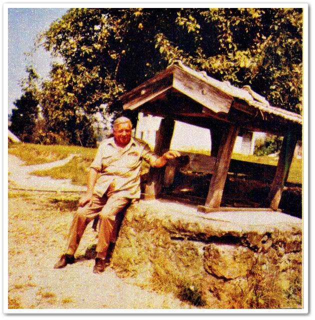 Branko Ćopić u rodnim Hašanima, foto: Yugopapir