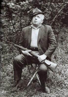 Branko Ćopić u šumama Hercegovine