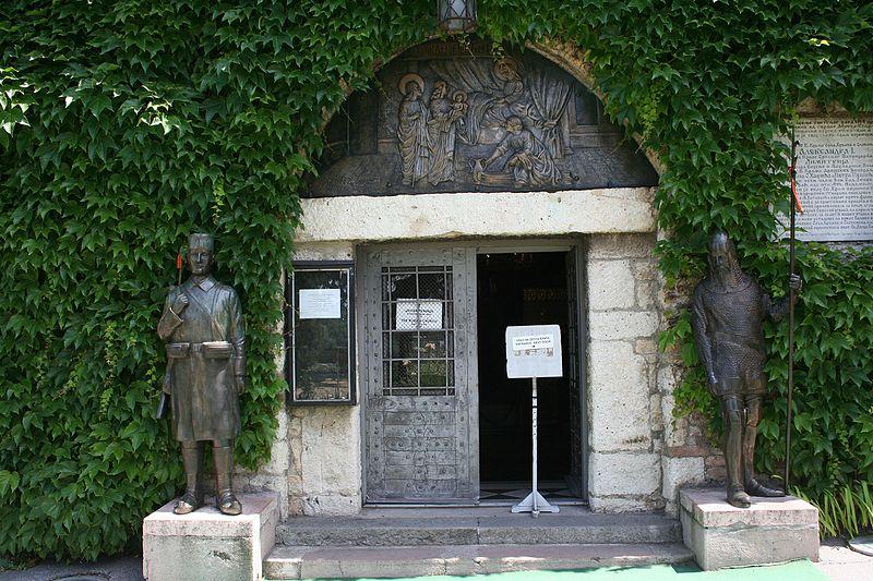 Ulaz u crkvu Ružicu