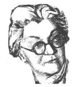 Portret Isidore Sekulic, Miroslava Milanovic