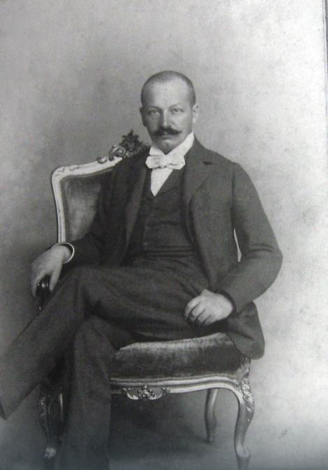 Portret Paje Jovanovića,, Milan Jovanović, u ateljeu, 1893-96