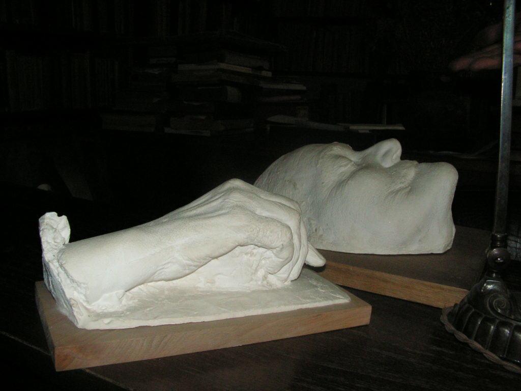 posmrtna maska Isidore Sekulić