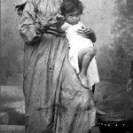 Glumica Vela NEgrinova kao model za Bogorodicu, Milan Jovanović 1895, foto: Muzej grada Beograda