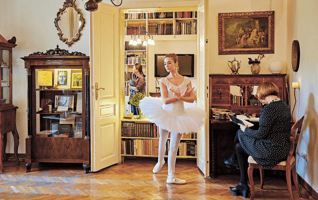 Balerina u Legatu Milorada Pavića, foto arhiva Legata MP