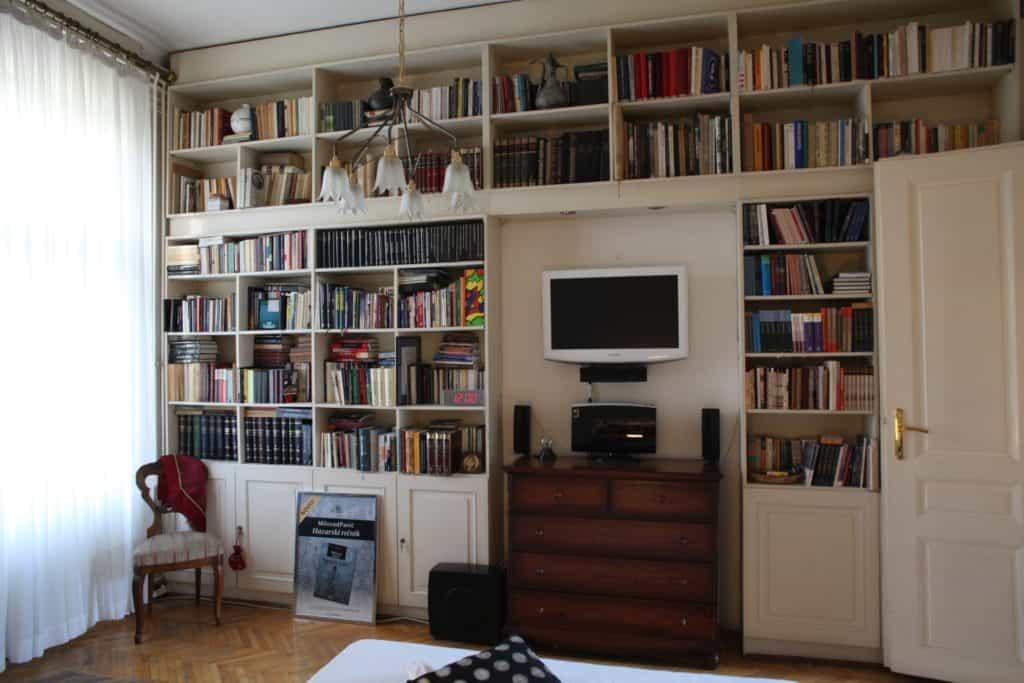 Biblioteka Milorada Pavića u Legatu, foto arhiva Legata M. Pavića