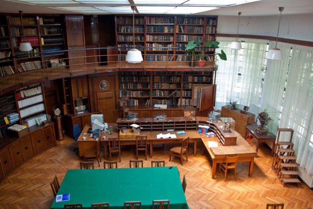 Biblioteka Astronomske opservatorije Beograd, foto: AOB