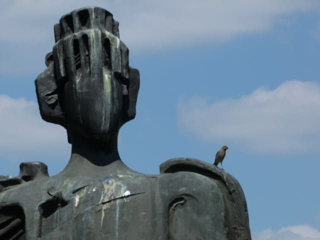 Nebojša Mitrić, Spomenik despotu Stefanu na Kalemegdanu, foto ©Neda Kovačević