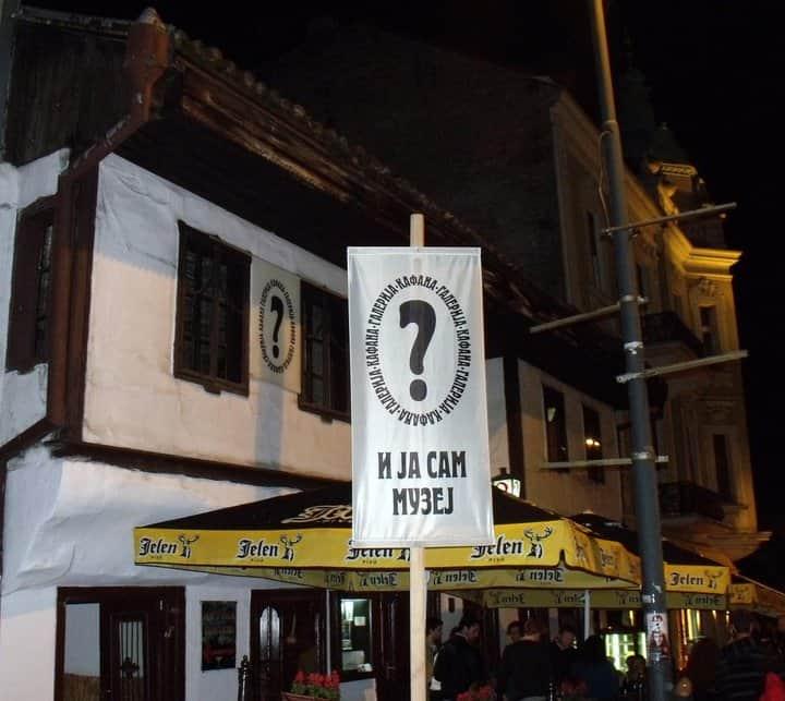 "Kafana Znak pitanja, ""I ja sam muzej"", 2010. foto: S. Spasić"