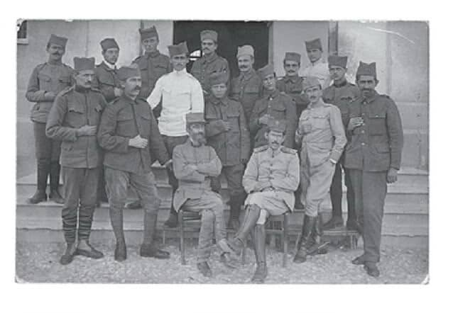Alber Ofor i Veselin Čajkanović, Prvi svetski rat