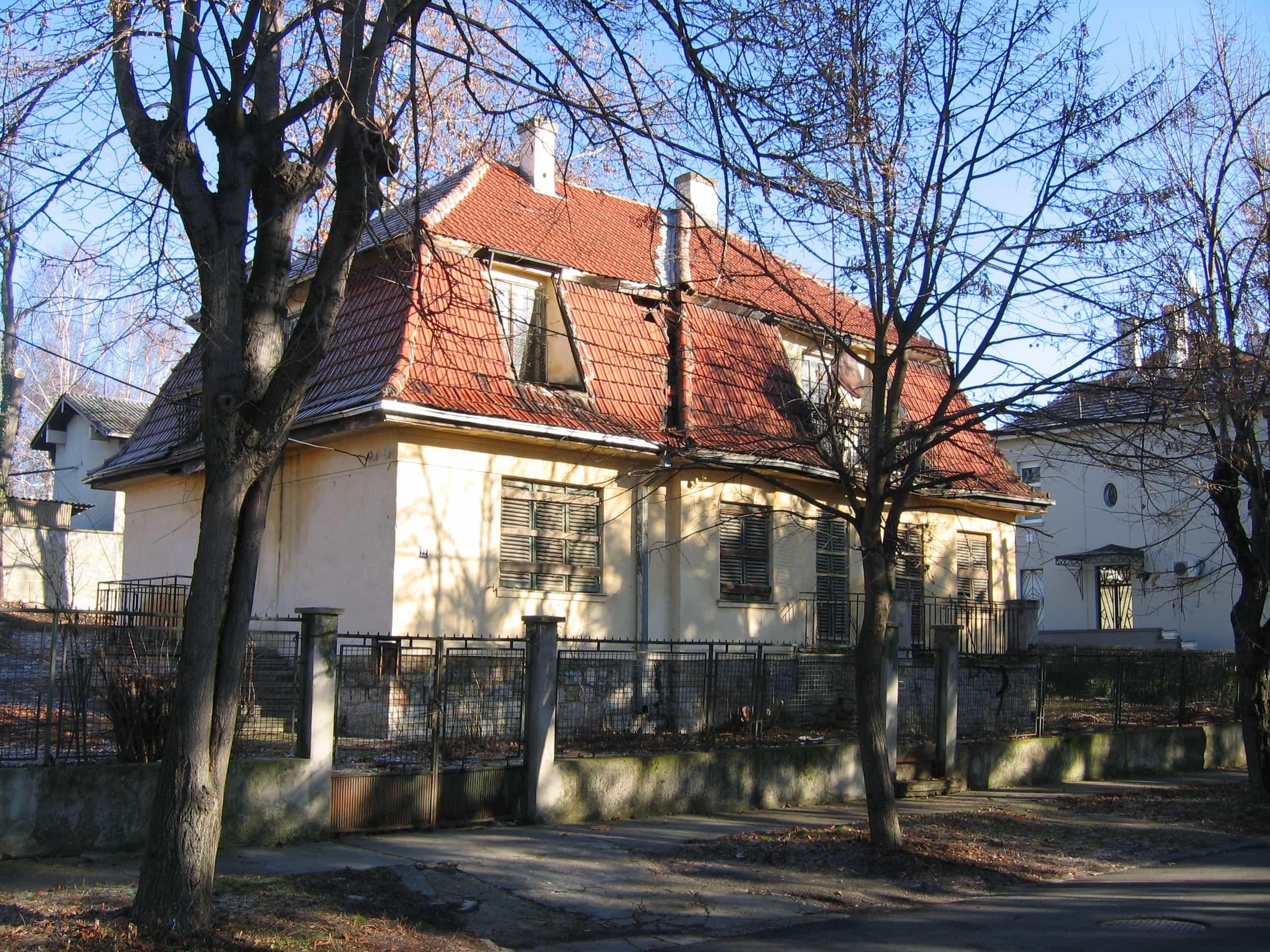 Kuća Veselina Čajkanovića, pre rušenja, foto: Laura Barna