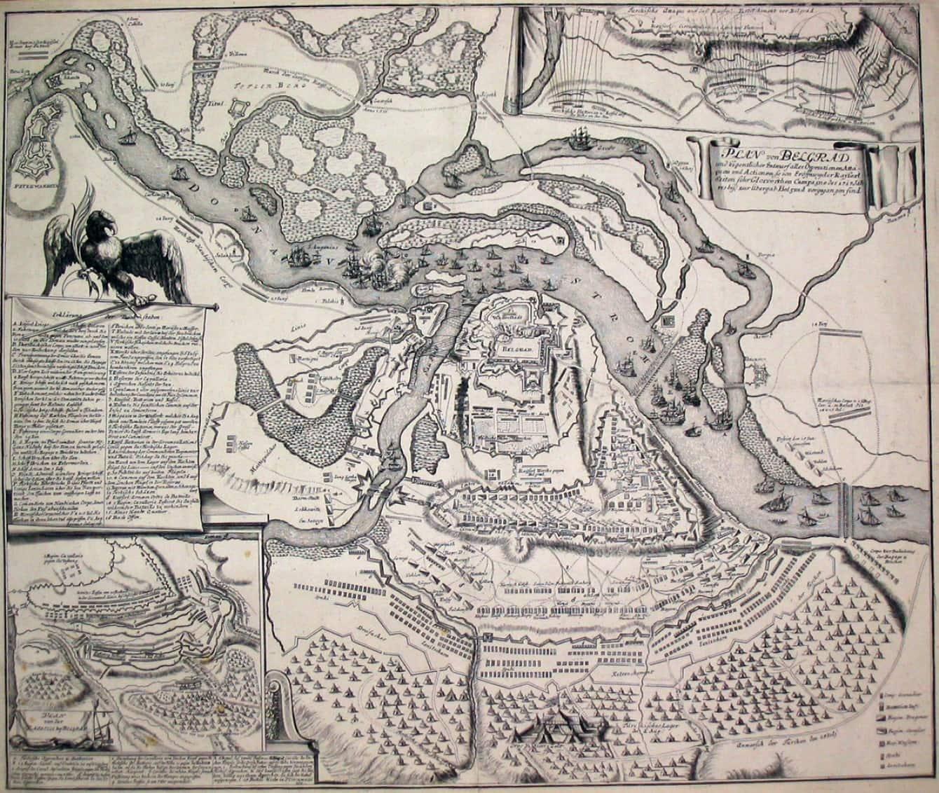 Opsada Beograda 1717, iz zbirke Vojnog muzeja, Beograd
