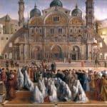 Đentile i Đovani Belini: Propoved Svetog Marta u Aleksandriji, 1504-1507,