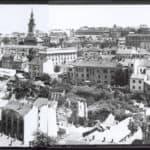 Saborna crkva i Kosančićev venac ,tridesetih godina XX veka