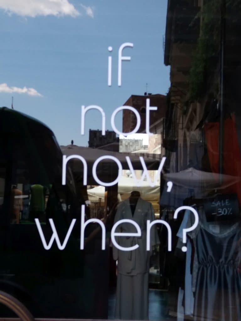 """""""Ako ne sada, kada?"""" - usputna kupovina u Veroni, foto: M.Pajević"""