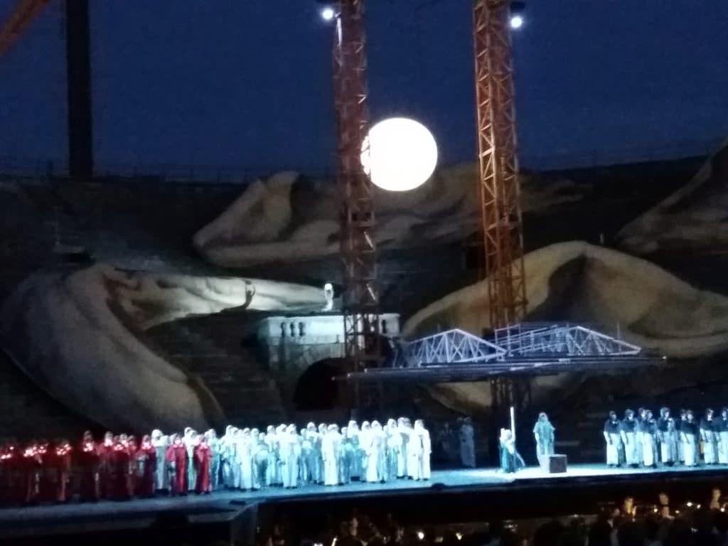 """Slično kostimima za Ratove zvezda, """"Aida"""", foto M. Pajević"""