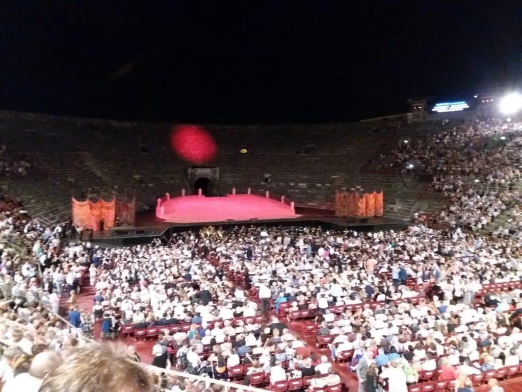 Arena, Verona, pred nastup Plasida Dominga, foto M. Pajević