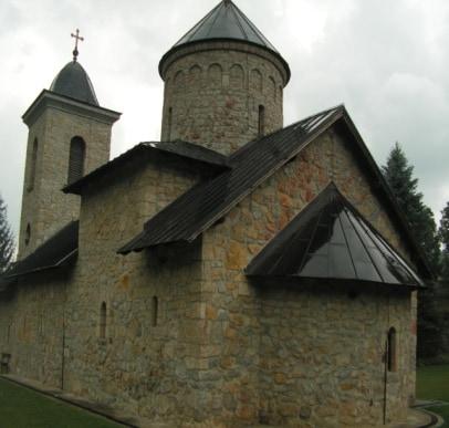 Apsida Crkve Bogorodičičnog Vavedenja, izgled Crkve sa istoka, foto: Laura Barna