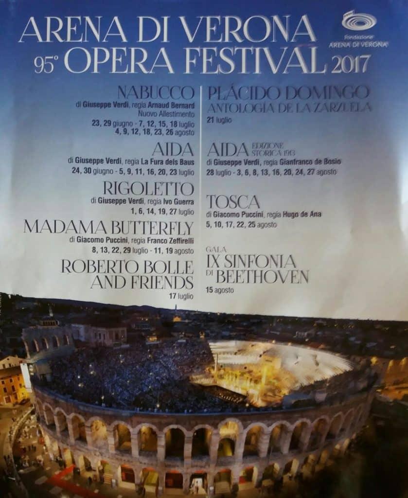 Festival opere uVeroni, 2017, foto M. Pajević
