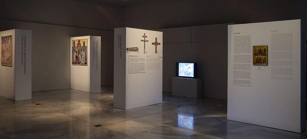 Sveti Sava srpski, izložba - Muzej vizantijske kulture, Solun, foto Istorijski muzej Srbije