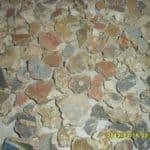 Fragmenti freskoslikarstva iz manastirske kripte, Foto Laura Barna