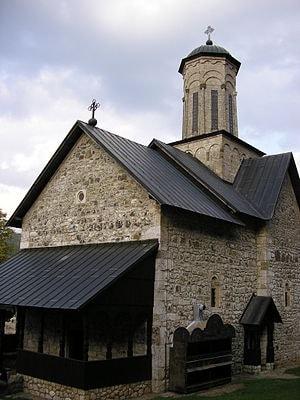 Crkva Blagoveštenja Presvete Bogorodice, pogled sa jugozapada, foto Laura Barna