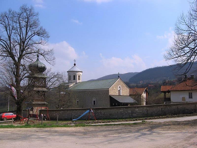 Manastir Papraća, foto: Sonjabgd via Wikipedia