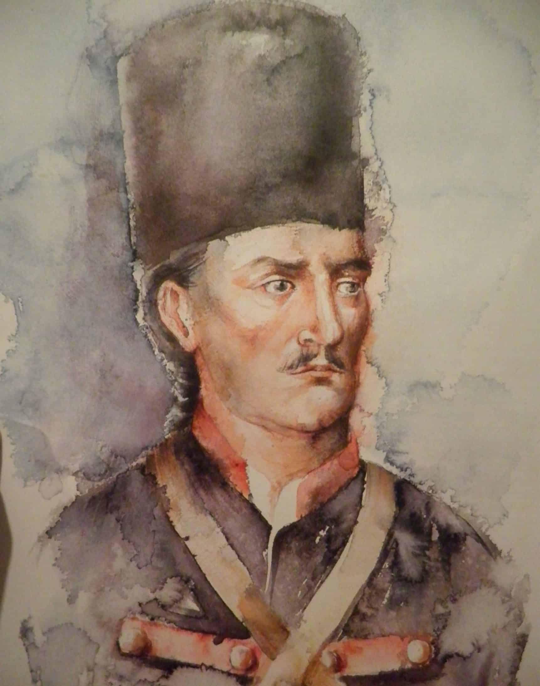 Boban Veljković - Portret Đorđa Petrovića KArađorđa kao frajkora