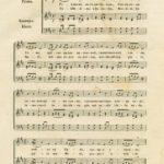 Prva strana Himne Svetom SAvi, notnog zapisa Kornelija Stankovića, Beč 1859.
