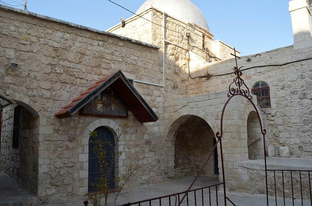 Manastir svetih arhangela Mihaila i Gavrila, Jerusalim, foto via Wikipedia
