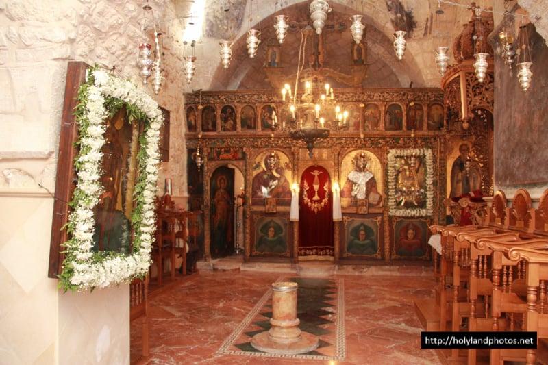 ikonostas jerusalim srpski manastir