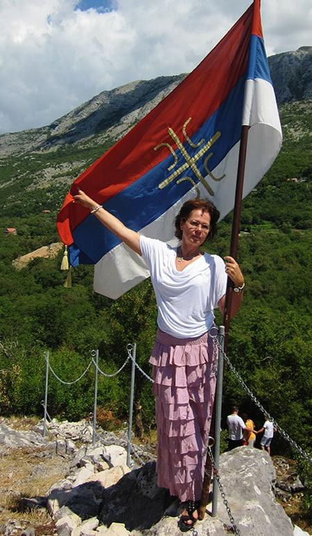 Svetlana Luganska, fotografija iz lične arhive S. Luganske,