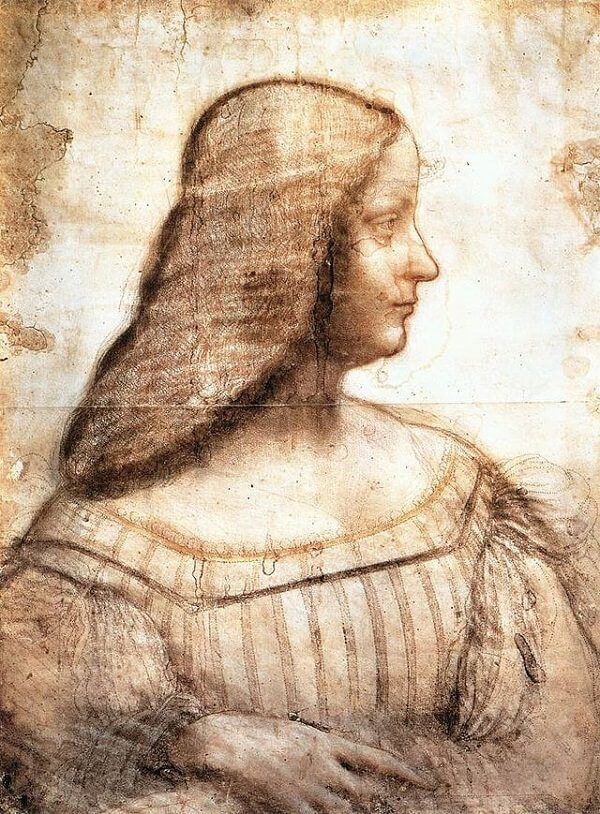 Leonardo Isabela d'Este