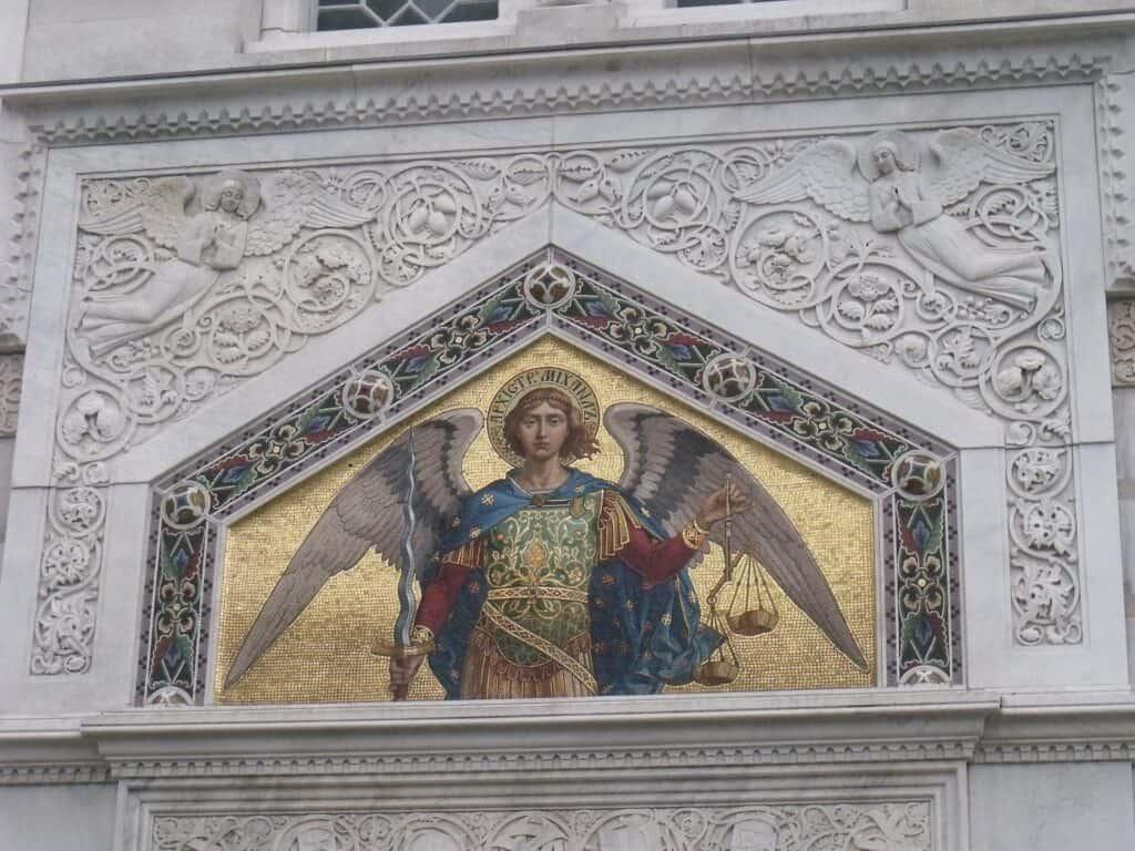 Arhangel Mihailo, Crkva Svetog Spiridona, Trst, foto P. Tišma